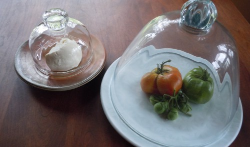 cloched mozzarella & tomato