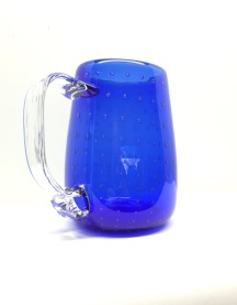 blue bubble mug
