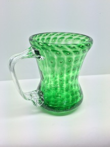 green bubble mug